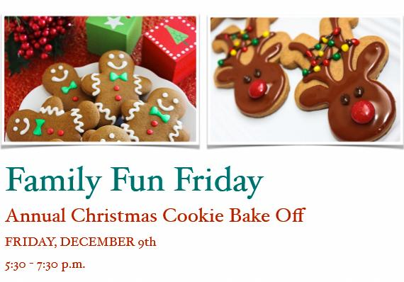Annual Christmas Cookie Bake-off @ St. Stephen's Episcopal Church