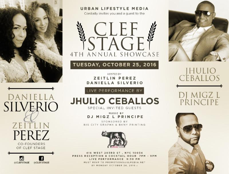 CLEF STAGE 4th ANNUAL SHOWCASE