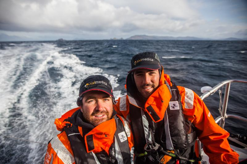 Team Alvimedica, Charlie Enright, Mark Towill, Amory Ross