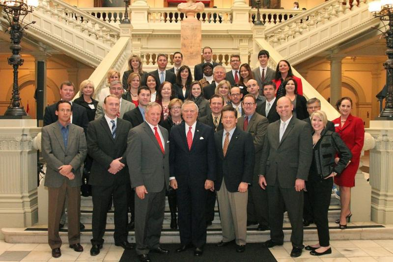 MBAG Lobby Day with Governor Nathan Deal - 2013