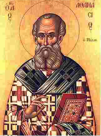 Icon of St Athanasius