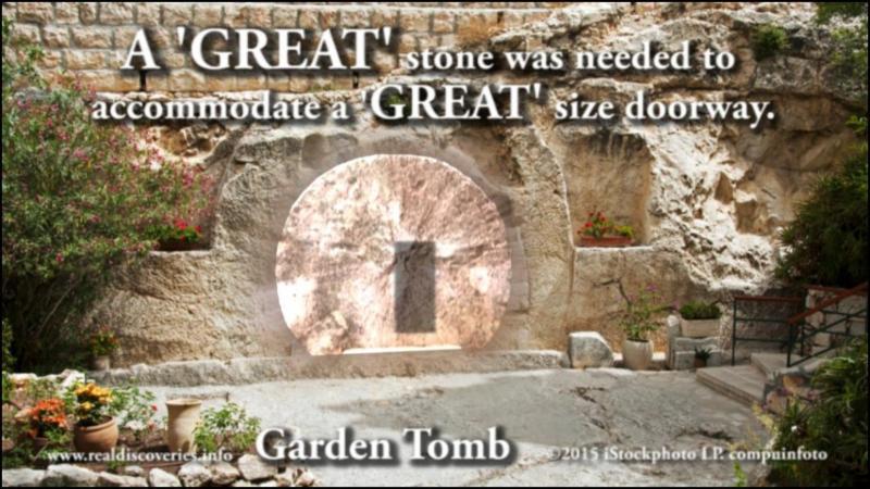 Garden tomb.