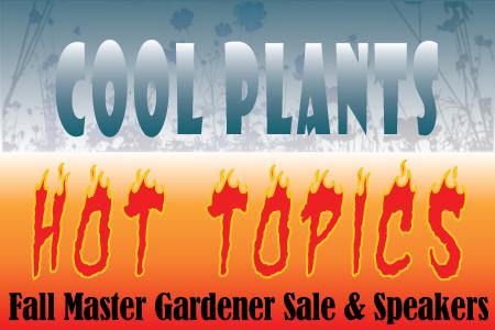 Fall King County Master Gardener Sale & Speakers