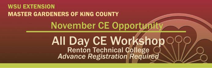 November CE Opportunity