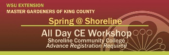 All Day CE Workshop at Shoreline Community College