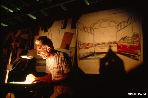 05. ©Philip Gould 90FEIN00918 Elemore Tatooed Walls 1990
