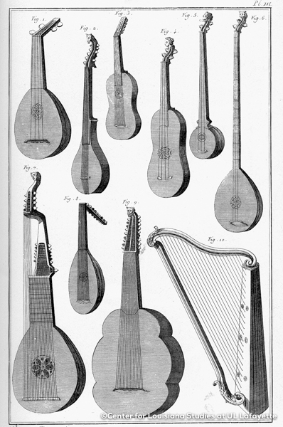 00383 Mandolins and Harp