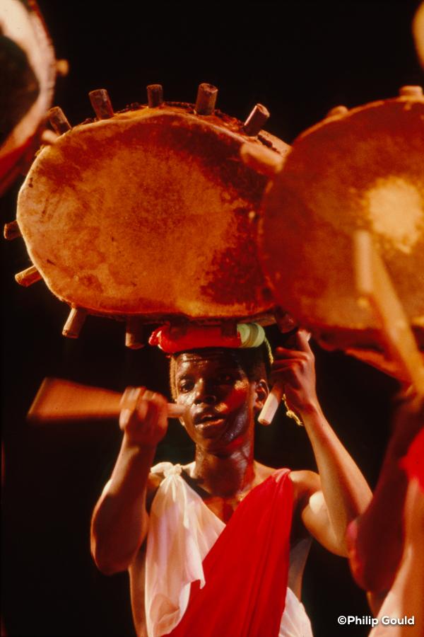 03. ©Philip Gould 89FEIN00943 Burundi Drummers cu