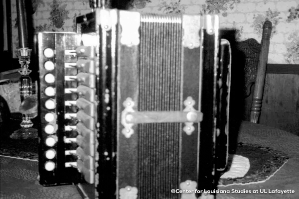 Accordion-ca. 1975 Acadian Brand, property of Albert Rozas