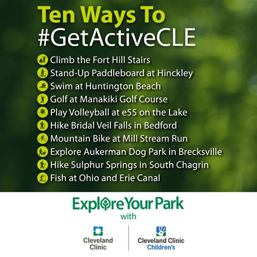 Cleveland Metroparks and Cleveland Clinic launch 'Explore