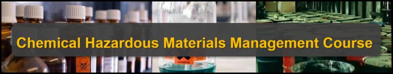 Chemical Hazardous Materials Management Course-Houston