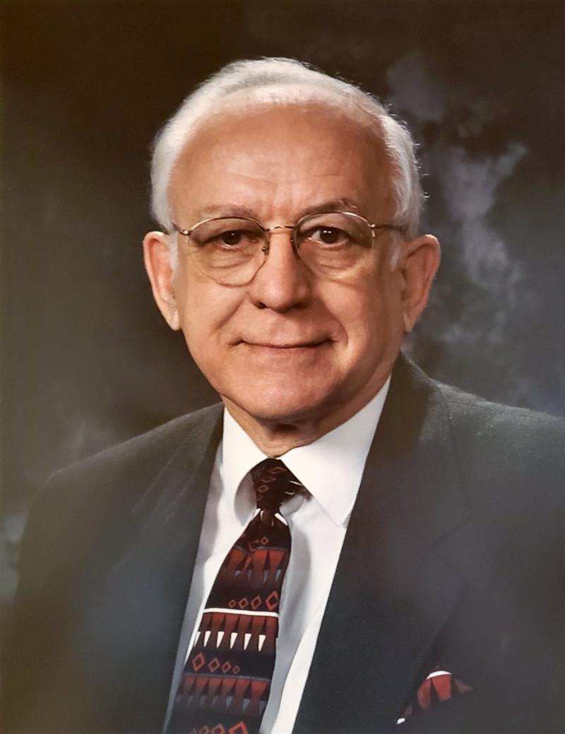 portrait of Pres. George Orvick
