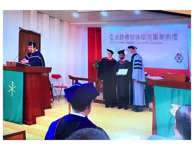 graduation at Asia Lutheran Seminary