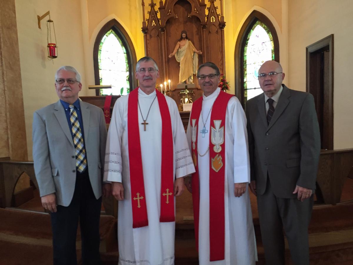 pastors at Shawano anniversary