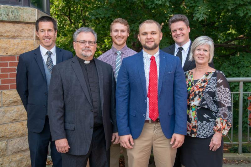group picture of six new Bethany faculty and staff