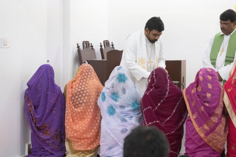 Communion in India