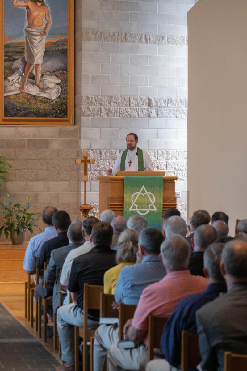 Rev. Ben Wiechmann_ chaplain