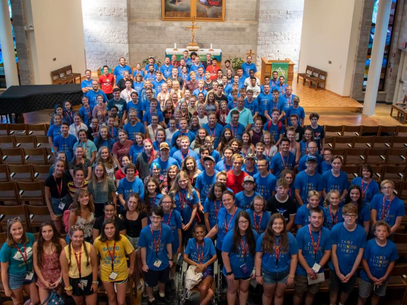 youth in Trinity Chapel