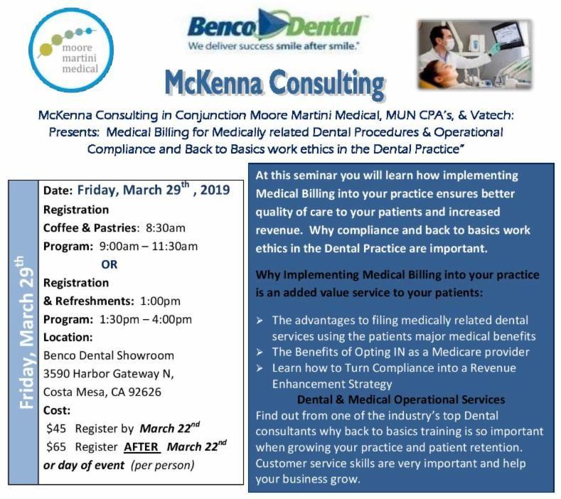 Medical Billing for Medically related Dental Procedures