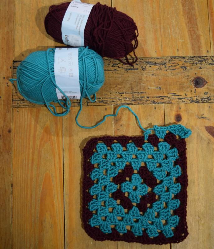 Intermediate Crochet-Granny Square Blanket