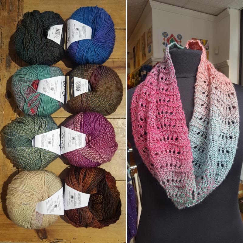 New Yarn New Sample