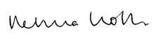 Rebecca Rolfe signature