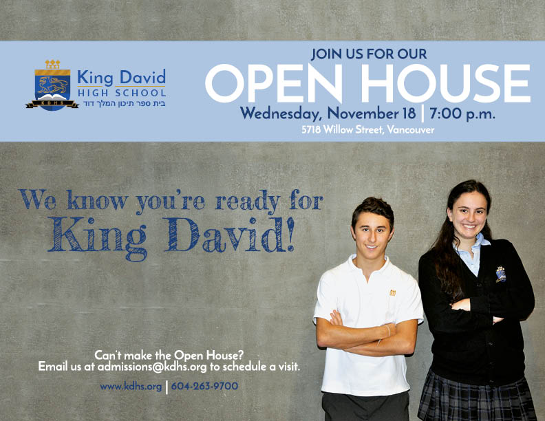 King David Open House