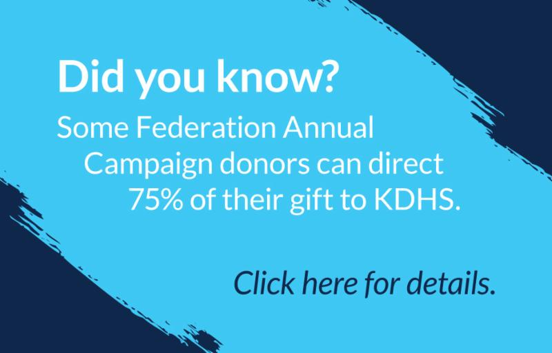 Federation Donation to KDHS