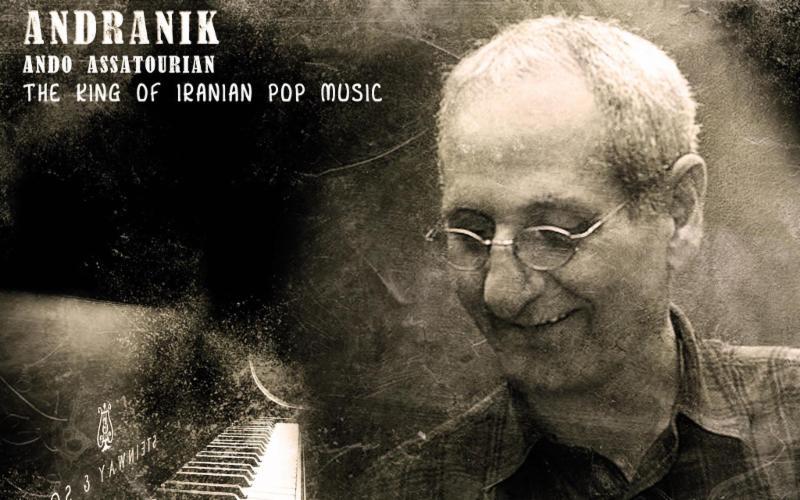 Andranik Ando - Iran's Pop Musician