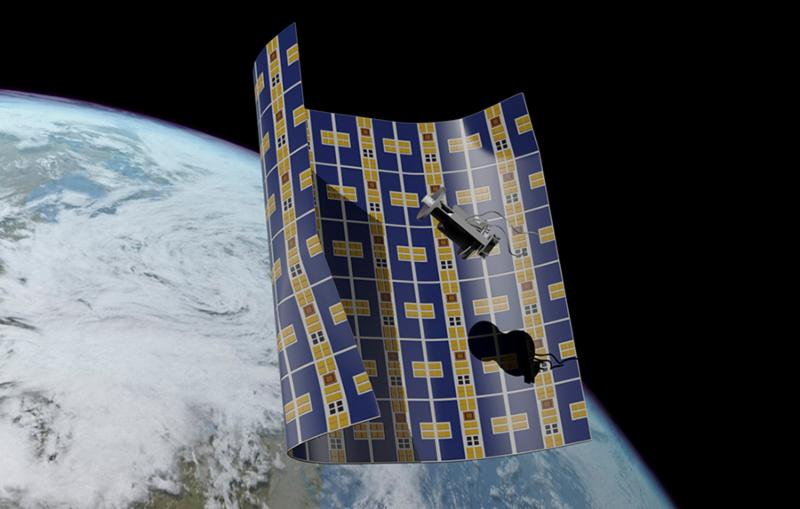 Brane Craft about to capture a piece of space debris.