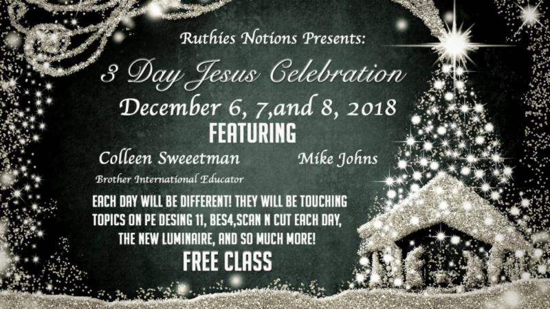 3 Day Jesus Birthday Celebration