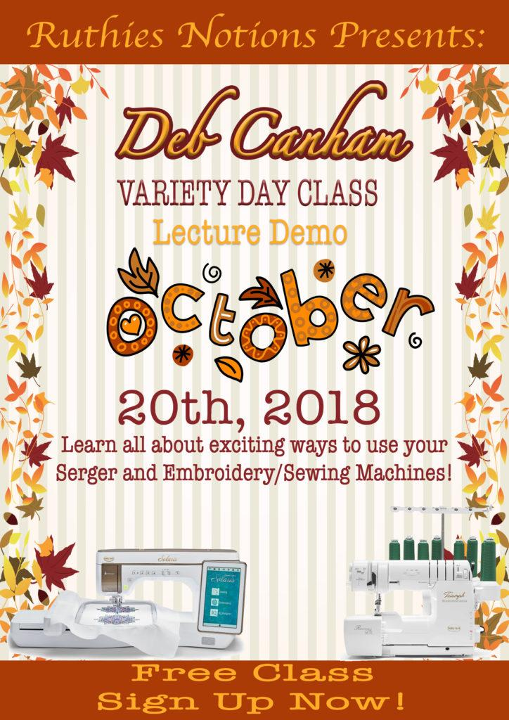Variety Day Class With Deb Canham