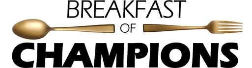 Breakfast of Champions spoon and fork logo