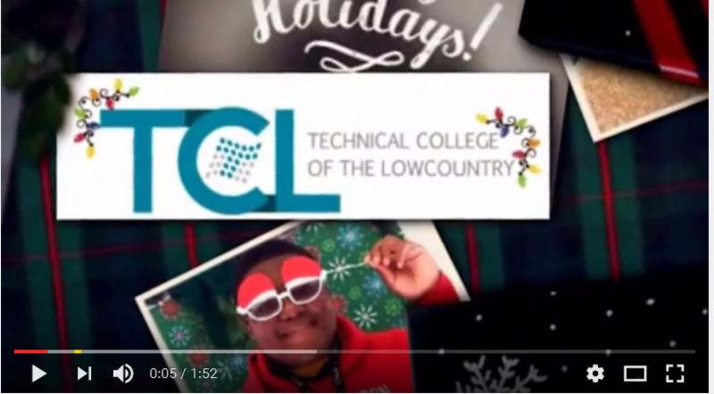 TCL holiday video greeting