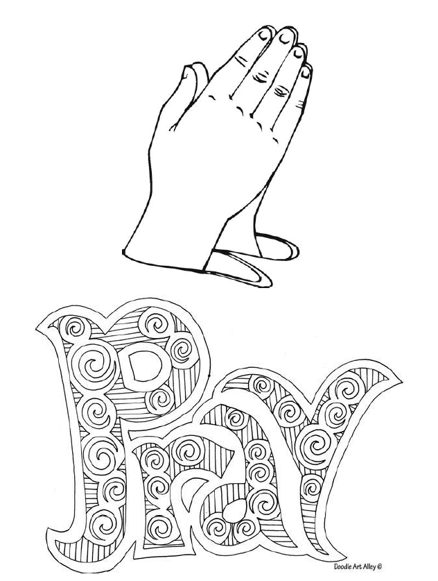 Coloring Page PRAYER 1.PNG