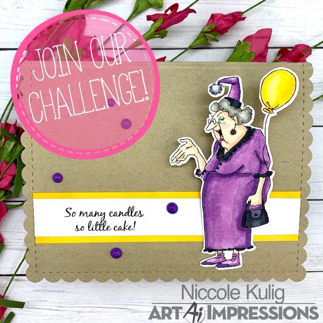 Birthday Cards Challenge