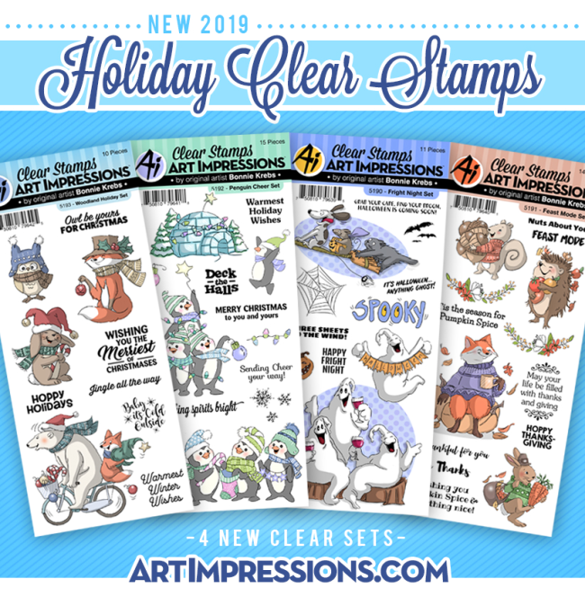 Holiday Clear Stamps