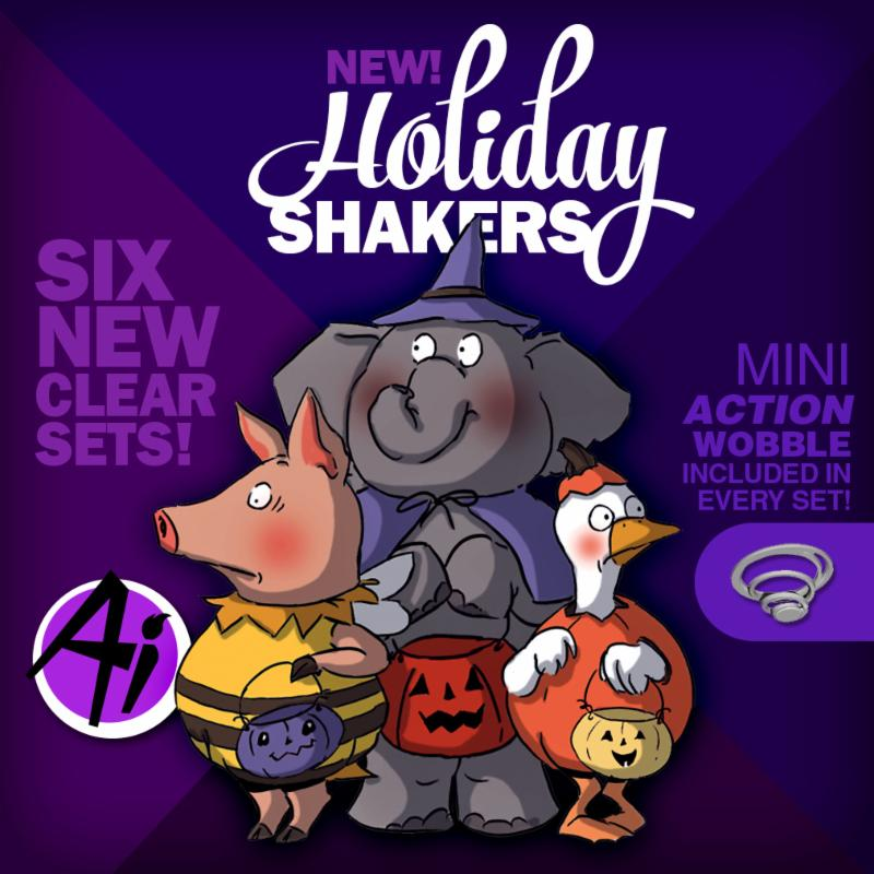 Holiday Mini Shakers