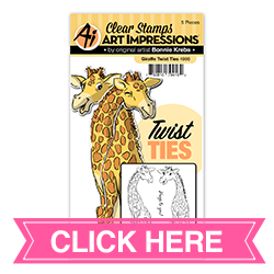 Giraffe Twist Ties