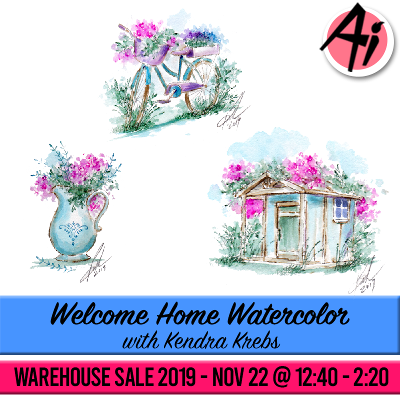 Welcome Home Watercolor