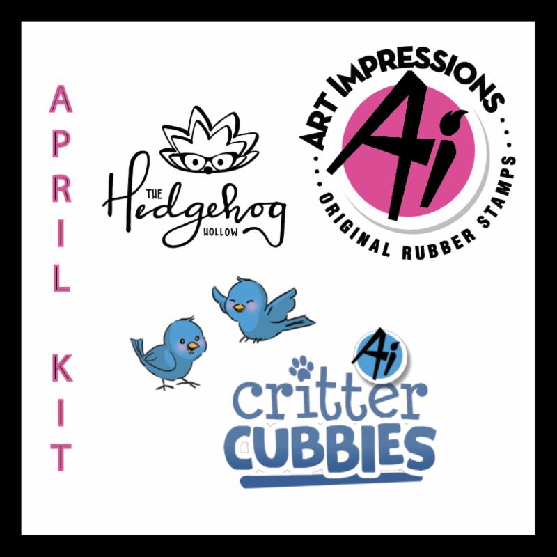 Hedgehog Hollow and Art Impressions Subscription Box