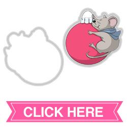Mouse Spinner Die (4693)