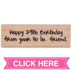 Happy 29th
