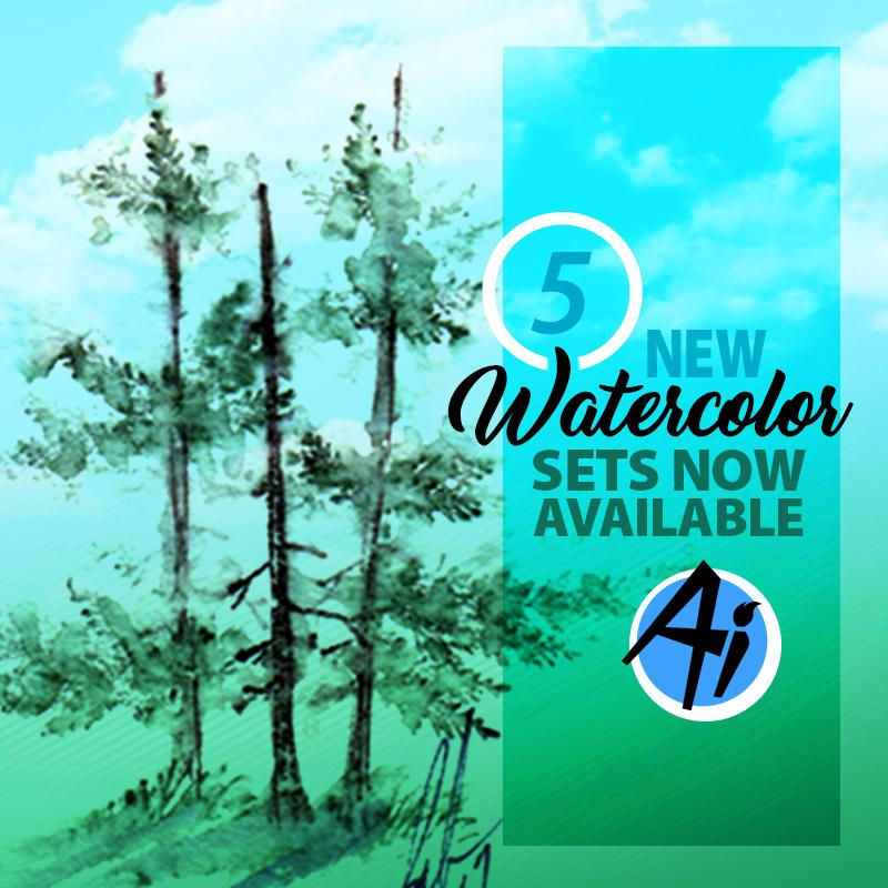 New Watercolor Sets