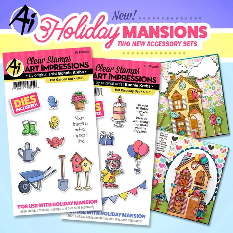 NEW Holiday Mansion Sets