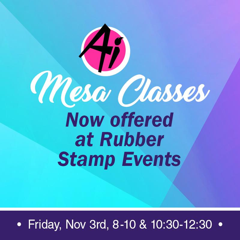 Classes at Rubber Stamp Events Mesa_