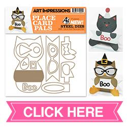 Cat and Owl Placecard