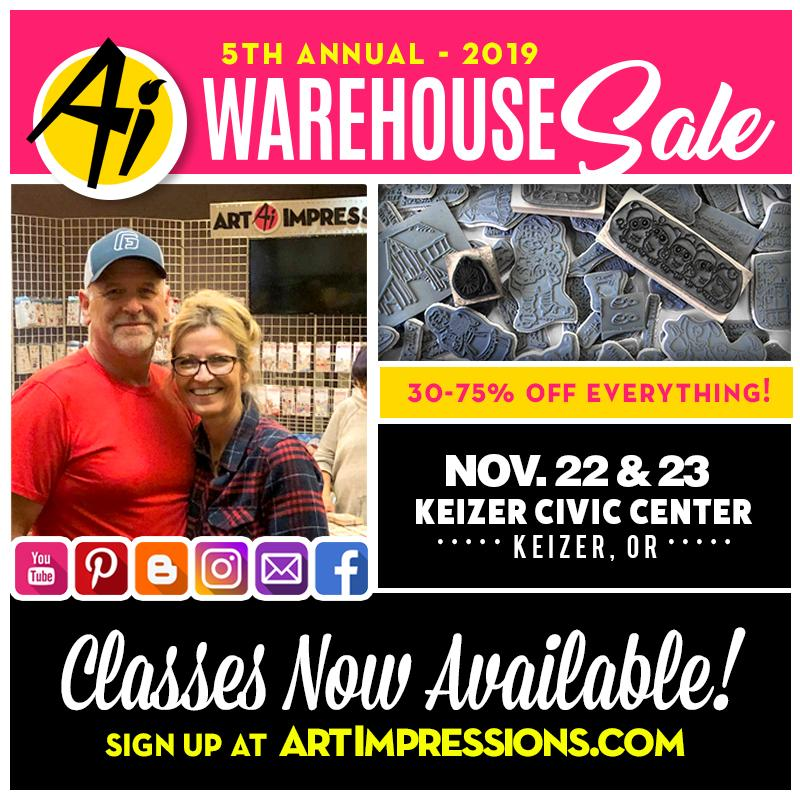Warehouse Sale Classes Available