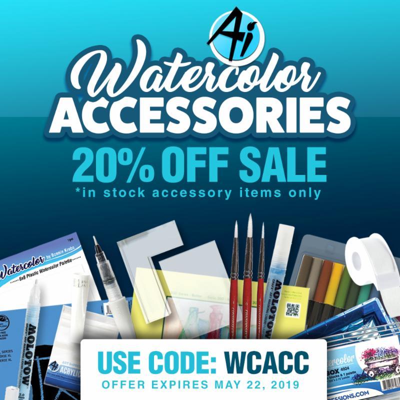 Watercolor Accessories Sale