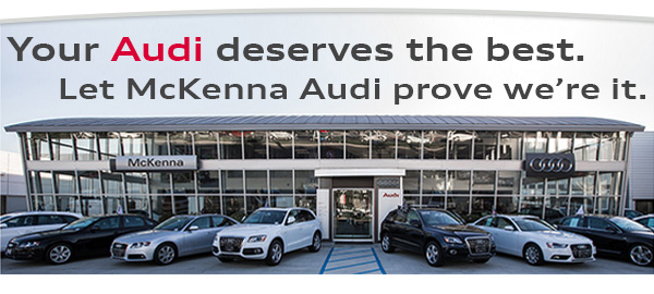 Save On An AC System Check And Receive A Free Inspection At McKenna - Mckenna audi